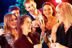 Ano novo - partido fotografia de stock royalty free