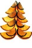 Ano novo que decora a laranja Imagem de Stock