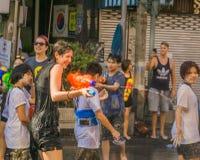 Ano novo tailandês - Songkran Fotos de Stock Royalty Free
