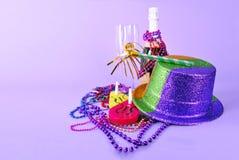 ano szczęśliwego zaproszenia nowy przyjęcia prospero yearcard Zdjęcia Stock
