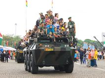 Anoa-2 6x6 pantserwagenjoyride Royalty-vrije Stock Fotografie