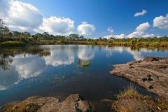 Anodard pond at Phu Kradueng National Park Royalty Free Stock Photo