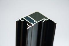 Anodisiertes Aluminiumprofil Aluminiumverdrängungen, verdrängte Aluminiumprofile, stockfotos