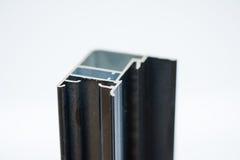 Anodized aluminum profile. Aluminum Extrusions,Extruded Aluminum Profiles, Royalty Free Stock Photo