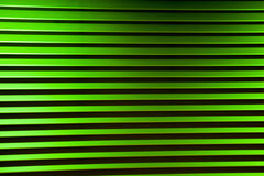 Anodized Green Louvers Stock Photo