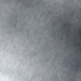 Silver Brushed Anodized Metal Stock Image