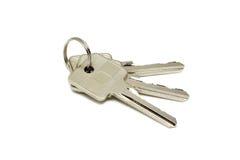 Anodyzujący metali klucze Zdjęcia Royalty Free
