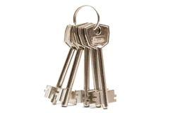 Anodyzujący metali klucze Obraz Stock