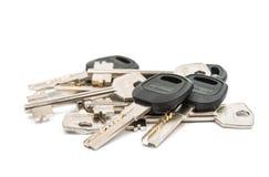 Anodyzujący metali klucze Obraz Royalty Free