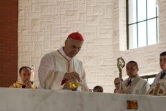 Anointing o altar. Imagem de Stock