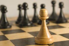 Anomalía del ajedrez a las reglas Fotografía de archivo libre de regalías