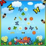 Anomalie de puzzle Images stock