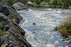 Anomalie méridionale de fleuve images libres de droits