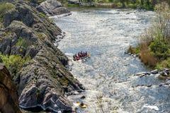 Anomalie méridionale de fleuve image stock