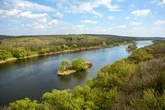 Anomalie méridionale de fleuve Image libre de droits