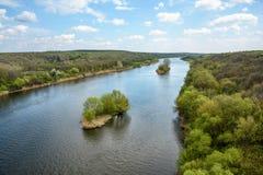 Anomalie méridionale de fleuve images stock