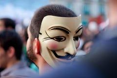 Anoniem Royalty-vrije Stock Foto's