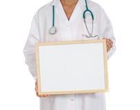 Anoniem artsenwhit aanplakbord stock foto