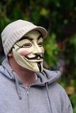 Anoniem bij Hoek 6 van het Park Hyde Stock Fotografie