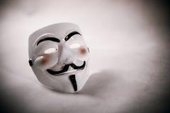 Anoniem masker royalty-vrije stock afbeeldingen