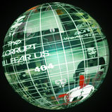 Anonimo globale Immagini Stock Libere da Diritti