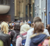 Anonimowi pedestrians Obrazy Stock