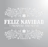 Anonuevo van Feliz navidad y prospero Royalty-vrije Stock Fotografie