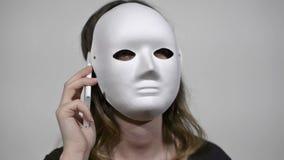 anonym felanmälanstelefon stock video