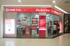 Anonyme Bank Thai CIMB Company de la THAÏLANDE Photographie stock