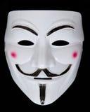 Anonyme Maske Stockfotografie