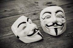 Anonyme Maske Lizenzfreie Stockfotos