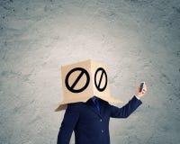 Anonymer Anruf Lizenzfreies Stockbild