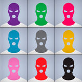 The anonymous author of avatars in a cap-mask Royalty Free Stock Image