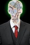 Anonymous Business Man Royalty Free Stock Photography