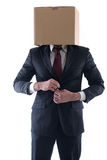 Anonymous business man Royalty Free Stock Photo