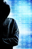 Anonymous hacker Stock Photography