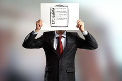 Anonymous interview Royalty Free Stock Image