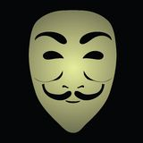 Anonymous mask Stock Photos