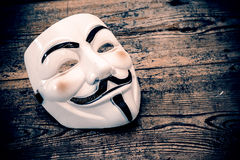 Anonymous mask Stock Image