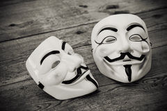 Anonymous mask Royalty Free Stock Photos