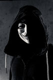 Anonymous. An anonymous person with a hood on Stock Images