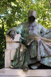 Anonymous' Statue in Budapest, Hungary Stock Images