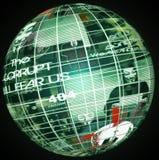 anonymt globalt royaltyfria bilder