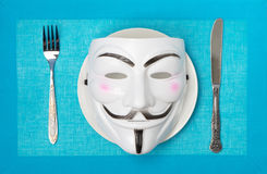 Anonymus in the concept Royalty Free Stock Photo