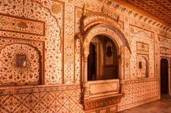 Anoop Mahal στο οχυρό Junagarh Στοκ Εικόνες