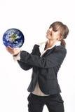 Anordnen der Welt Stockfotos