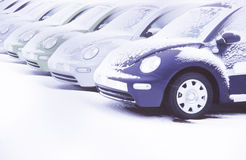 Anordnung der Autos Stockfotos