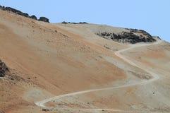 Anordnungen des vulkanischen Felsens Stockfotos