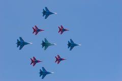 Anordnungsflug Stockfotos