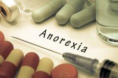 anorexia royalty-vrije stock afbeelding